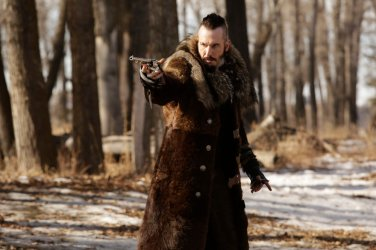 "WYNONNA EARP -- ""I Walk the Line"" Episode 113 -- Pictured: Michael Eklund as Bobo Del Rey -- (Photo by: Michelle Faye/Syfy/Wynonna Earp Productions)"
